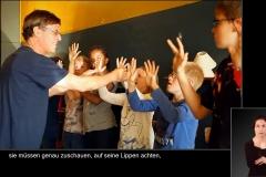 JOMI arbeitet mit Kindern